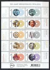 NEDERLAND 2013 - 100 JAAR VREDESPALEIS s-GRAVENHAGE - POSTFRIS VELLETJE     3096