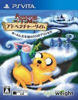 PS Vita Adventure Time Three princesses in the nameless Kingdom Japan PSV