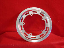 Vintage Nervar Chain Ring Guard 5 Arm Crank Chrome Steel Used