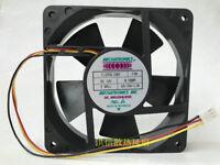 For MECHATRONICS E1225E12B2 FSR Cooling fan DC12V 0.580A 120*120*25MM 3pin