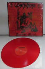 Whetstone Ancient Metal RED Vinyl LP Record new