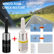 2* Automotive Glass Nano Repair Fluid Car Window Glass Crack Chip Repair Tool