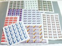 Briefmarken Bogen BRD  unbenutzt  ca. 295 Stück verschiedene