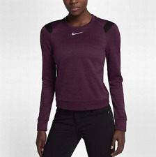 NWT$90 NIKE THERMA SPHERE WOMEN'S GOLF LONG SLEEVE TOP Size M 855247-609