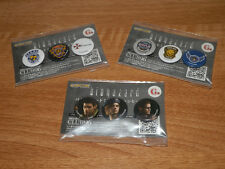BIOHAZARD HD Japan Promo Limited Pins Set STARS Chris Jill Wesker Resident Evil