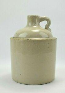 Macomb Stoneware Pottery Crock Jug