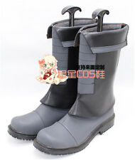 Mobile Suit Gundam Iron-Blooded Orphans Mikazuki Augus Cosplay Shoes Boots X002