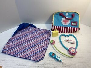 Baby Alive Replacement Accessory Lot: Hooded Towel, Bag, Juice Box +