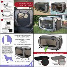 Sport Pet Waterproof Pet bed, Carrier Collection Designs Large Pop Open Ke