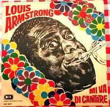 Louis Armstrong 45 giri mi va di cantare