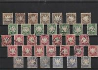 Bavoria 1876 used  stamps  ref 12411