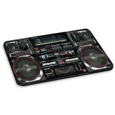 Boombox Negro Pc Computadora Mouse Mat Pad-música altavoces estéreo Tocadiscos