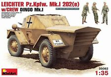 Mini Art 1/35 German Dingo Mk I Leichter Pz Kpfw Mk I 202 (e) Model Kit 35082
