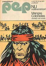 PEP 1971  nr. 43  - SEPTEMBER (POPGROUP)/ HANS G. KRESSE (COVER)/JACKIE STEWART