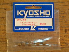 FX-33 M3 Spacer Nut - Kyosho 1:8 Scale F1 Series for EP & GP Versions