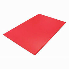 """Red Chopping/Cutting Board 18 x 12 x ½""""  - NSF Approved"""