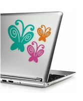 3 butterfly vinyl Decal, Yeti Decal, Tumbler Decal, LAPTOP STICKER TRUCK lo4