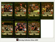 2001 Teamcoach Trading Cards Gold Prize Team Set Carlton (7)