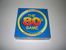 The 80's Trivia Game The 1980's Are Back How Much Do You Remember? COMPLETE!