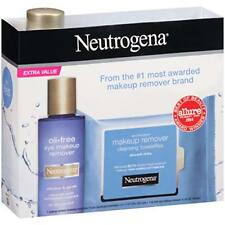 Neutrogena® ~ Oil-Free Eye Makeup Remover & Makeup Remover Cleansing Towelettes