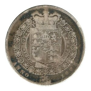 KM# 688 - Half Crown - George IV - Great Britain 1823 (Poor)