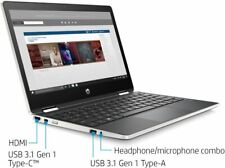 Pavilion x360 11.6•W10H•1366 x 768 HD•11.6 inches•Touchscreen•TOUCH•Touch•4GB