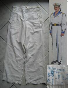 CCCP pantalon marine russe sous-marin Sovietique URSS USSR navy 1960-70  N217