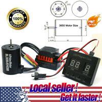 BL3650 4300KV Brushless Motor&60A ESC+LED Program Card For 1:10 RC Car TRUK_AU