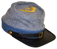 American Civil War Confederate Infantry Style Kepi With Badge XLarge 60/61cms