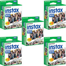 100 Prints Fuji Instant Wide Instax Film for Fujifilm 200, 210, 300 Camera 04/19