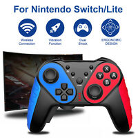 For Nintendo Switch/Lite Wireless Pro Controller Gamepad Joystick Motion Remote