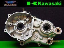 2000 KAWASAKI KX100 KX80 Left Side Crankcase Crank Case Half Cases Bottom End