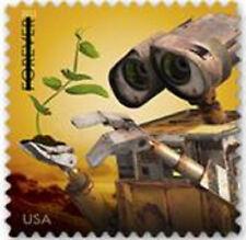 US 4557 Disney Pixar Send a Hello WALL.E forever single MNH 2011