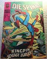 Marvel Williams Verlag Comics - Die Spinne - Spiderman - Heft Nr. 85 - Z1-2/Z2+