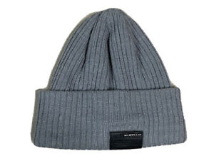 Men's Buffalo David Bitton winter hat beanie one size Gray