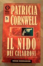 """DALLA MIA COLLEZIONE PATRICIA CORNWELL  : """" IL NIDO DEI CALABRONI""""  1999"""