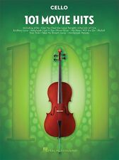 101 film hits pour violoncelle apprendre à jouer pop rock chart film songs music book