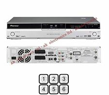Pioneer Multi Region Free DVR-540HX-S DVD Freeview PVR 160GB HDD Recorder 540HXS
