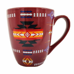 Native American Indian Navajo Print Southwest Coffee Mug 16 once