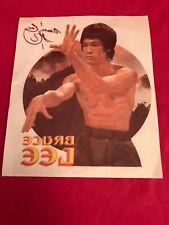 Vintage 70s Bruce Lee Iron On Transfer T shirt