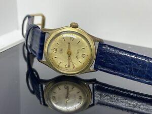 Sammlerstück Ford 100.000Km Automatic Vintage Herrenuhr Duromat 25 Jewels- Läuft