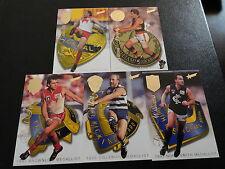 1996 AFL MEDAL SET OF 5 CARDS ABLETT LOCKETT WILLIAMS ....