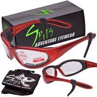 Hercules Bifocal Safety Glasses - Orange Frame