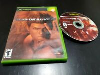 Dead or Alive 3 (Microsoft Xbox, 2001) TESTED! NO MANUAL! FREE SHIPPING!