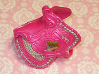 Disney PRINCESS Barbie Doll AURORA REPLACEMENT SADDLE for HORSE 2007 Mattel