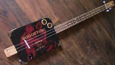 WEEKLYHOUSE CIGAR BOX GUITAR ACOUSTIC ELECTRIC 3 STRING  WATCH A VIDEO DEMO y