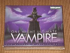One Night Ultimate Vampire NEW SW Bezier Games party family game