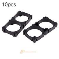 10pcs 32650 2x Battery Holder Bracket Cell Safety Anti Vibration Plastic Spacer