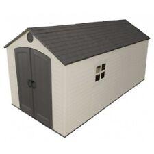 Lifetime Sheds 8x15 Plastic Storage Shed w/ 2 windows (60075)