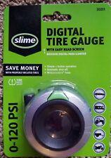 Digital Tire Gauge by Slime 0-120 PSI Car Truck Bike ATV Motorcycle
